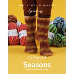 West Yorkshire Spinners Signature 4Ply Seasons Pattern Book by Winwick Mum