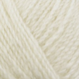 Jamieson & Smith Shetland Supreme Jumper Weight 4Ply 50g White 2001