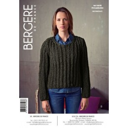 Bergere de France Jumper for Women in Magic Plus Leaflet 08