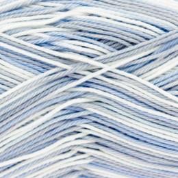 King Cole Giza Cotton Sorbet 4Ply 50g Silver Blue 2478