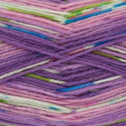 King Cole Zig Zag 4Ply 100g Purples 3235