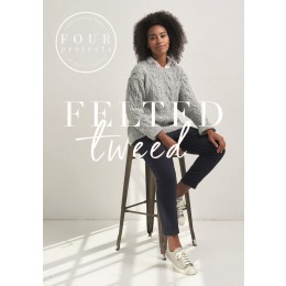 4 Projects - Felted Tweed Knits by Quail Studio
