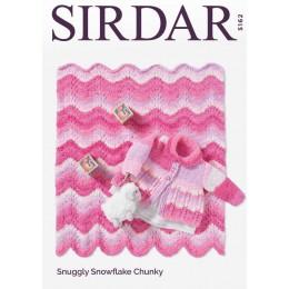 S5162 Coat & Blanket in Sirdar Snuggly Snowflake Chunky