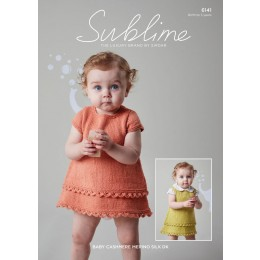 SU6141 Dress & Pinafore in Sublime Baby Cashmere Merino Silk DK