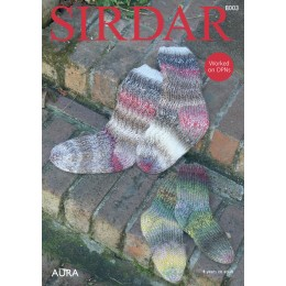 S8003 Socks for Women and Children in Sirdar Aura