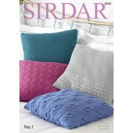 S8050 Cushions in Sirdar No. 1