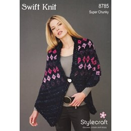 ST8785 Russian Shawl in Stylecraft Swift Knit Super Chunky
