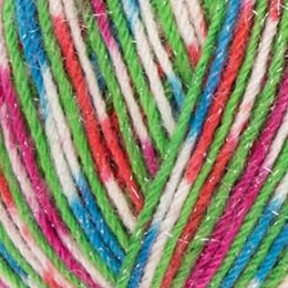 West Yorkshire Spinners Signature Sparkle 4Ply 100g Fairy Lights (Sparkle) 905