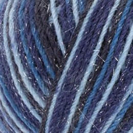 West Yorkshire Spinners Signature Sparkle 4Ply 100g Silent Night (Sparkle) 906