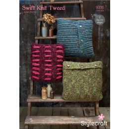 St9336 Cushions in Swift Knit Tweed
