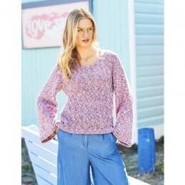 St9617 Ladies Sweaters in Monet Aran & Jeanie