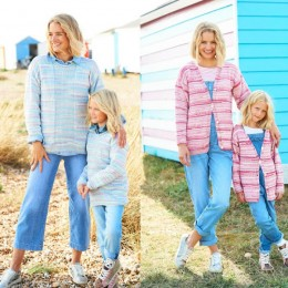 ST9821 Girls & Ladies Cardigan and Sweater in Stylecraft You & Me