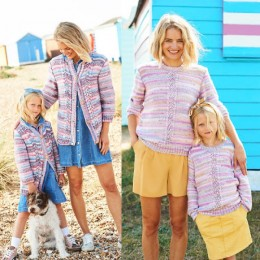 ST9824 Cardigan and Sweater for Women & Girls in Stylecraft You & Me