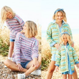 ST9826 Sweater & Cardigan for Ladies & Girls in Stylecraft You & Me