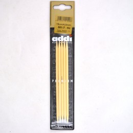 Addi Double Pointed Bamboo Needles
