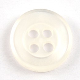 4-Hole Raised Edge Circular Button