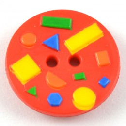 Abstract Shapes Button