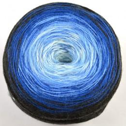Bergere de France Unic DK 200g Bleu/Noir 10102
