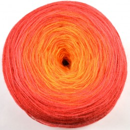 Bergere de France Unic DK 200g Orange/Rouge 10107