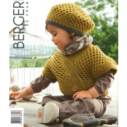 Bergere de France Cardigan and Hat for Babies in Magic Plus Leaflet 01