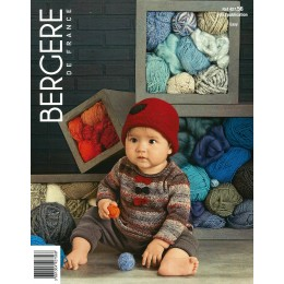 Bergere de France Jumper and Hat for Babies in Goomy 50 Leaflet 56