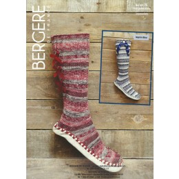 Bergere de France Slipperboots for Adults in Goomy 50 Leaflet 75