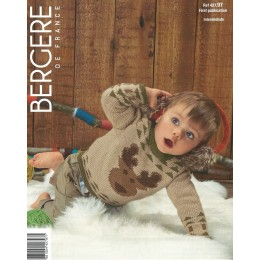 Bergere de France Reindeer Jumper for Children in Ideal