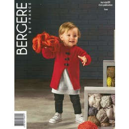 Bergere de France Jacket for Children in Ideal Leaflet 01