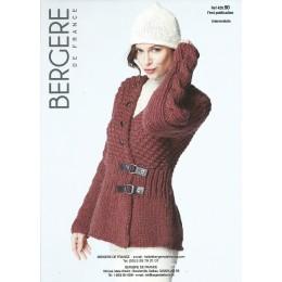 Bergere de France Jacket for Women in Recyclaine Leaflet 90