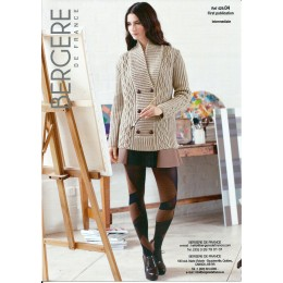 Bergere de France Jacket for Women in Sport Leaflet 04