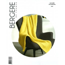 Bergere de France Blanket in Ideal Leaflet 86