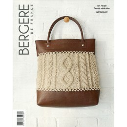 Bergere de France Bag in Alaska Leaflet 36