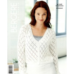 Bergere de France Cardigan for Women in Coton fifty Leaflet 02