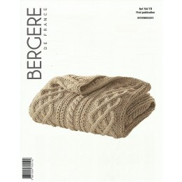 Bergere de France Blanket in Magic Plus Leaflet 19