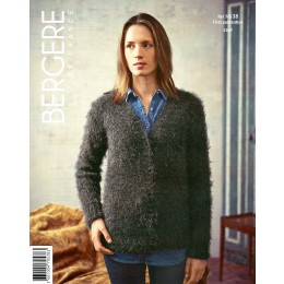 Bergere de France Cardigan for Women in Plume Leaflet 38