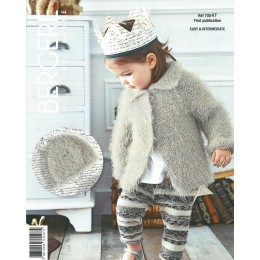 Bergere de France Jacket and Hat for Children in Plume Leaflet 47