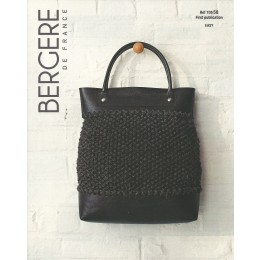 Bergere de France Bag in Recyclaine Leaflet 58
