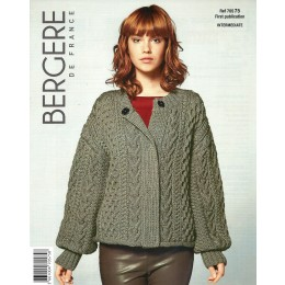 Bergere de France Jacket for Women in Sport Leaflet 75