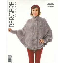 Bergere de France Poncho for Women in Filomeche Leaflet 80
