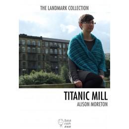 Baa Ram Ewe Titanic Mill Shawl in Titus