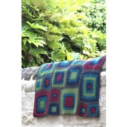 Baa Ram Ewe Uppermill Blanket in Dovestone