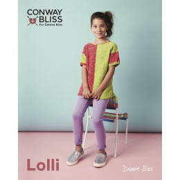 CB017 Children's Jumper in Conway and Bliss Lolli