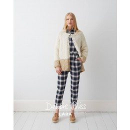 DB060 Two Colour Jacket in Debbie Bliss Lara