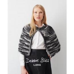 DB061 Shoulder Cape in Debbie Bliss Lara