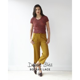 DB129 Top for Women in Botany Lace