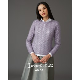 DB144 Serphina Sweater for Women in Debbie Bliss Angel