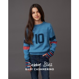 DB146 Sweater for Children in Debbie Bliss Baby Cashmerino