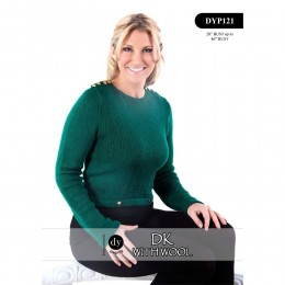DYP121 Ladies Jumper DK with Wool