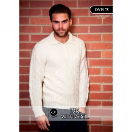 DYP175 Man's Jumper DK with Wool