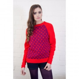 DYP194 Ladies Jumper DK with Wool